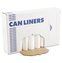 GARBAGE BAGS GARBAGE BAGS - Extra Heavy-Grade Can Liners, 24 x 32, 16-Gallon, .40 Mil, White, 25/Rol