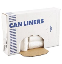 GARBAGE BAGS GARBAGE BAGS - High-Density Can Liners, 43 x 47, 56-Gal, 17 Micron Equivalent, Clear, 2
