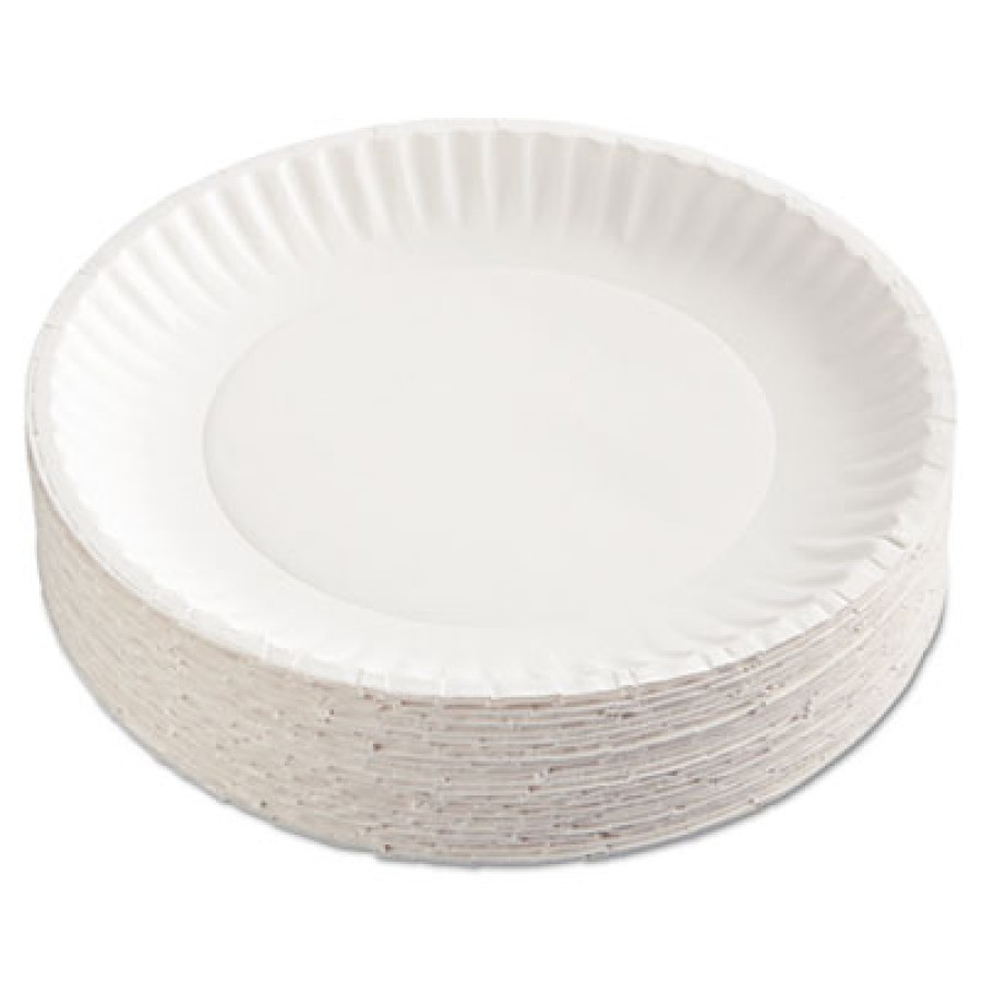 PAPER PLATE | PAPER PLATE | 10/100'S - C-GOLD LABEL PPR PLT  CLAYCOAT