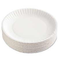 PAPER PLATE   PAPER PLATE   12/100'S - C-GREEN LABEL PPR PLT  9IN WHI