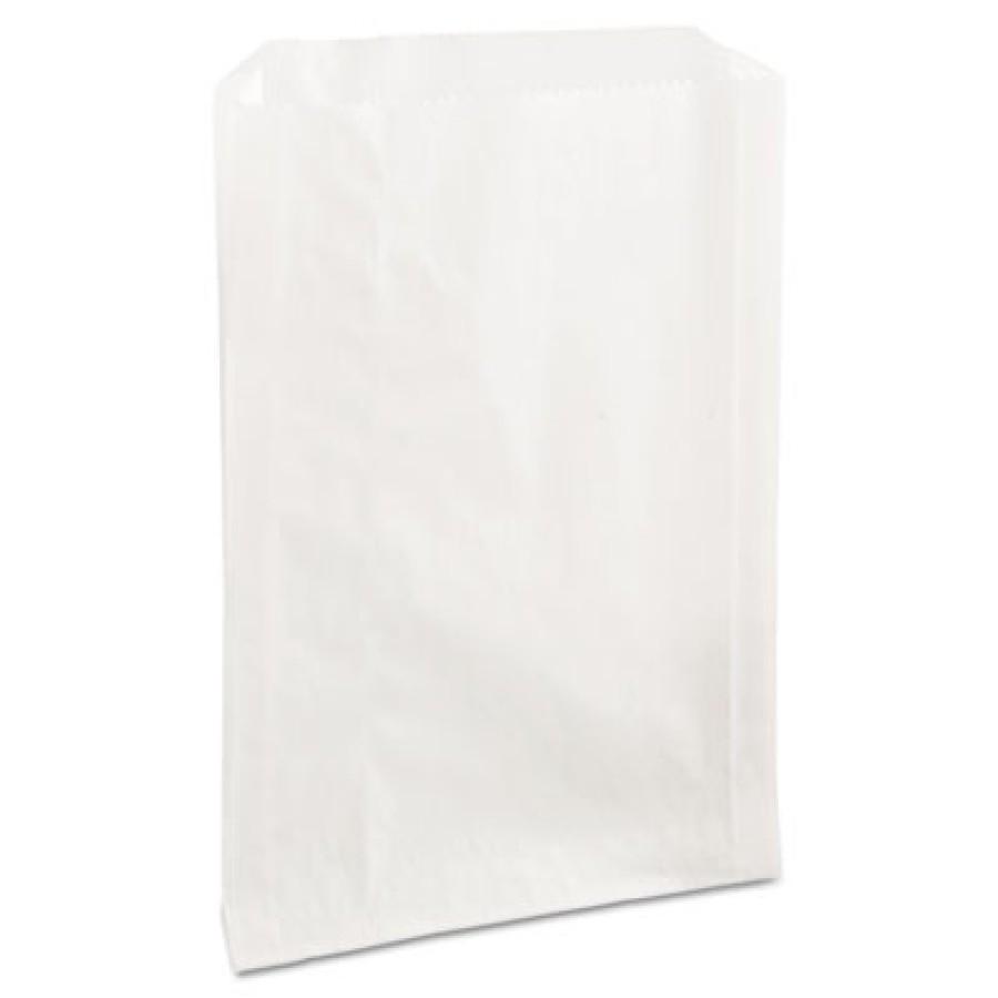 Sandwich Wrap Sandwich Wrap - Bagcraft Papercon  Grease-Resistant Sandwich BagsBAG,SANDWICH,6.5X1X8,