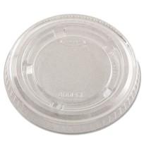 SOUFFLE CUP LIDS SOUFFLE CUP LIDS - Portion Cup Lids, 3.25-5.5oz Cups, ClearDart  Portion/Souffl  Cu