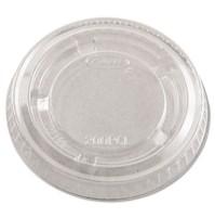 SOUFFLE CUP LIDS SOUFFLE CUP LIDS - Portion Cup Lids, Plastic, ClearDart  Conex  Complements Portion