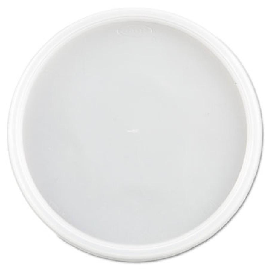SOUP CUP LIDS SOUP CUP LIDS - Plastic Lids, Fits 24-32oz Cups, TranslucentDart  Plastic LidsC-VNTD F