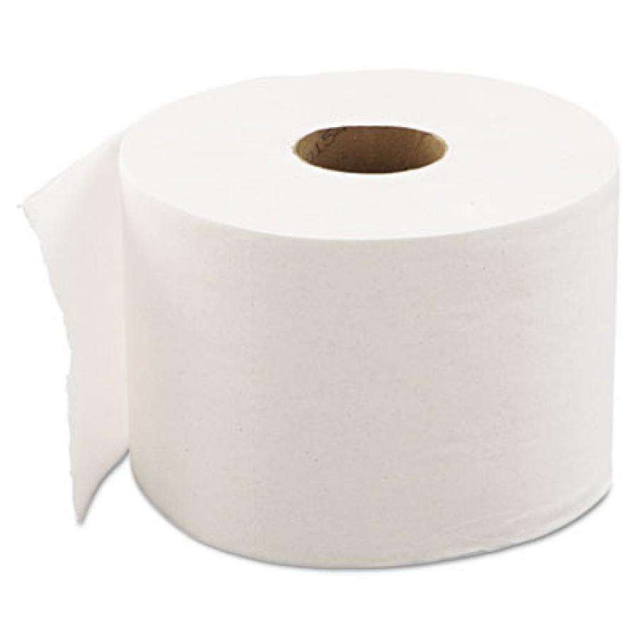 TOILET PAPER TOILET PAPER - High-Capacity Standard Bath Tissue, 2-Ply, White, 1000/RollEconomical hi