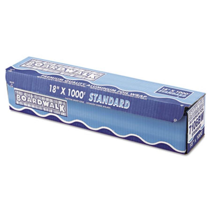 Aluminum Foil Aluminum Foil - Boardwalk  Aluminum FoilFOIL,18INX1000FT,STD,SLVStandard Aluminum Foil