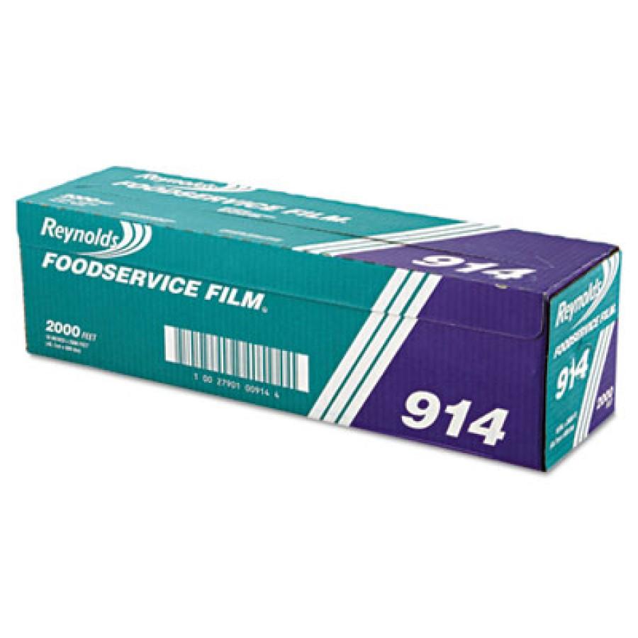Saran Wrap Saran Wrap - Reynolds Wrap  Film with Cutter BoxPVC FOOD FLM,18X2000',CLRPVC Film Roll w/