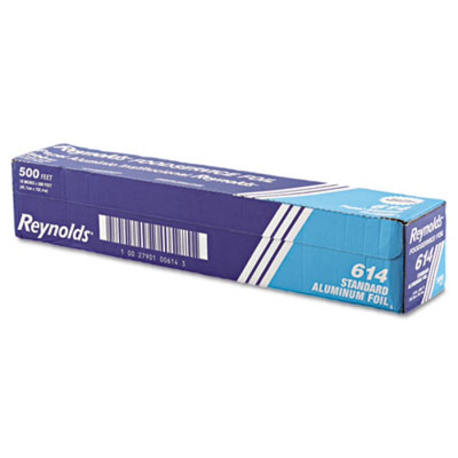 Aluminum Foil Aluminum Foil - Reynolds Wrap  Aluminum FoilFOIL RL,18X500',STD,SLVStandard Aluminum F