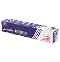 "Aluminum Foil Aluminum Foil - Reynolds Wrap  Metro  Aluminum Foil RollsLT FOIL,18""X500FT,HVY,SLVMetr"