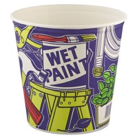 Carry Out Bucket Carry Out Bucket - SOLO  Cup Company Double Wrapped Paper BucketsPPR BKT UNWXD,165O