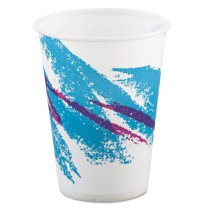 PAPER CUP | PAPER CUP | 20/100'S - C-PPR CUP 9OZ WXD JAZZ  20/100CUP,P