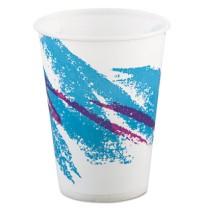 PAPER CUP | PAPER CUP | 20/100'S - C-PPR CUP 9OZ WXD JAZZ  20/100CUP,P