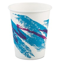 PAPER CUP | PAPER CUP | 20/50'S - C-PPR HOT CUP 10OZ JAZZ  /50PPR CUP,