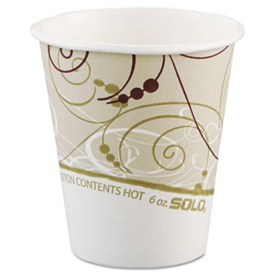 PAPER CUP | PAPER CUP | 20/50'S - C-PPR HOT CUP 6OZ SYMPH 20/50PPR CUP