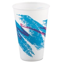 PAPER CUP | PAPER CUP | 2000/CS - C-PPR CUP 12OZ WXD JAZZ  20/100CUP,W