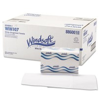Paper Towels Paper Towels - One-ply, recycled, embossed paper towels.TWL,S-FLD,1PLY,WHI,250/PKEmboss