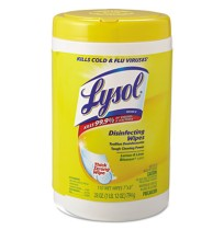 DISINFECTANT WIPES | DISINFECTANT WIPES - C-LYSOL DISINF WIPE 110C T L