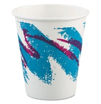 PAPER CUP | PAPER CUP | 20/50'S - C-PPR HOT CUP 6OZ JAZZ 2 50PPR CUP,6