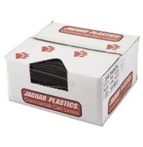 GARBAGE BAGS GARBAGE BAGS - Repro Low-Density Can Liners, 43w x 47h, BlackJaguar Plastics  Repro Low