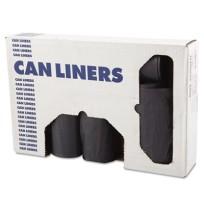 GARBAGE BAGS GARBAGE BAGS - Low-Density Can Liners, 33gal, 1.1mil, 33w x 39h, Gray, 25/RollBoardwalk