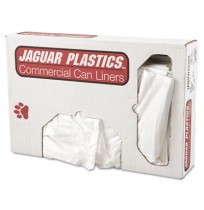 GARBAGE BAG GARBAGE BAG - Low-Density Can Liner, 33 x 39, 33-Gallon, .70 Mil, White, 150/CaseJaguar