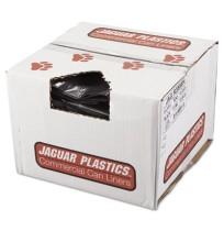 GARBAGE BAGS GARBAGE BAGS - Repro Low-Density Can Liners, 38w x 58h, BlackJaguar Plastics  Repro Low