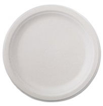 PAPER PLATE | PAPER PLATE | 500/CS - C-CHINET PREM PPR PLT  9.75IN WHI