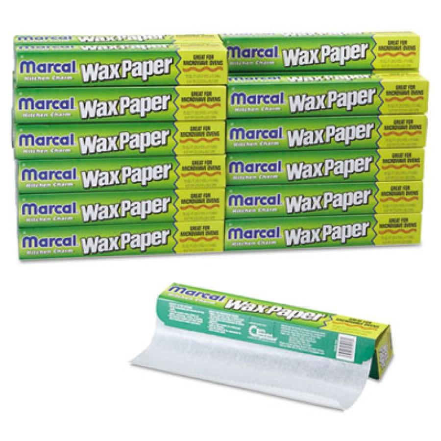 "Wax Paper Wax Paper - Marcal  Kitchen Charm  Wax Paper RollWAX PPR ROLL,11.9""X75FTKitchen Charm Wax"