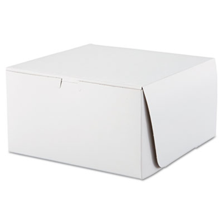 Bakery Box Bakery Box - SCT  Tuck-Top Bakery BoxesB-BOX,10X10X5.5,WETuck-Top Bakery Boxes, 10w x 10d