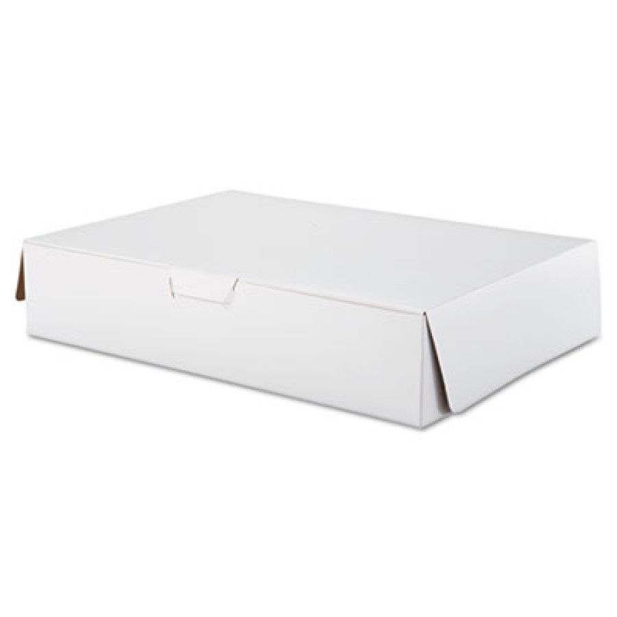 Bakery Box Bakery Box - SCT  Tuck-Top Bakery BoxesCAKE BOX,1/2-SHEETTuck-Top Bakery Boxes, 19w x 14d