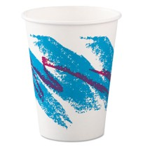 PAPER CUP | PAPER CUP | 20/50'S - C-PPR HOT CUP 12OZ JAZZ  /50PPR CUP,