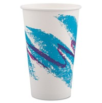 PAPER CUP | PAPER CUP | 20/50'S - C-POLY LINED PPR HOT CUP 16OZ JAZZ T