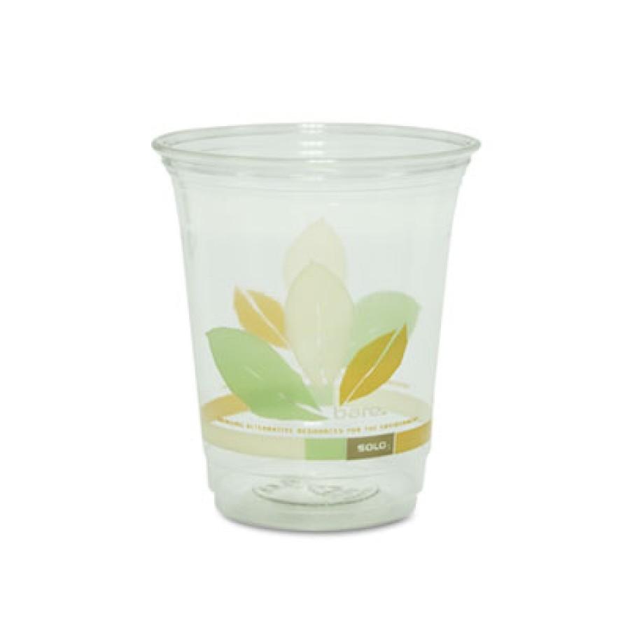PLASTIC CUPS PLASTIC CUPS - Bare Eco-Forward RPET Cold Cups, 12 oz., Bare Design, 50/BagSOLO  Cup Co