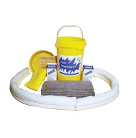 HAZMAT SPILL KIT HAZMAT SPILL KIT - FACILITY MAINTENANCE SPILL KIT6.5 GALLON SCREW TOP PAIL KITS FAC