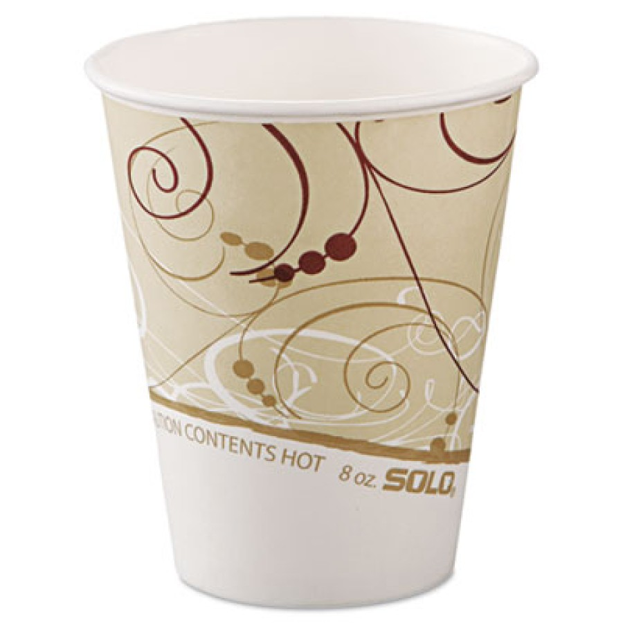 PAPER CUP | PAPER CUP | 20/50'S - C-PPR HOT CUP 8OZ SYMPHN 20/50PPR CU