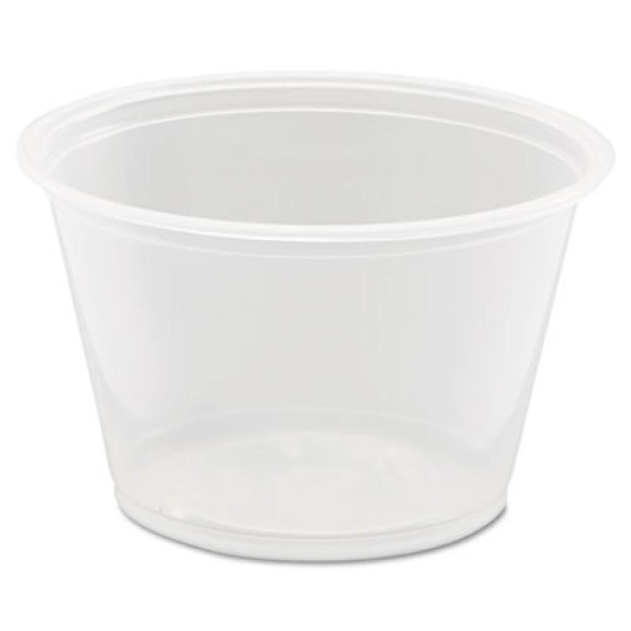SOUFFLE CUPS SOUFFLE CUPS - Conex Polypropylene Portion Cup, 4 oz, 125/BagDart  Conex  Complements P