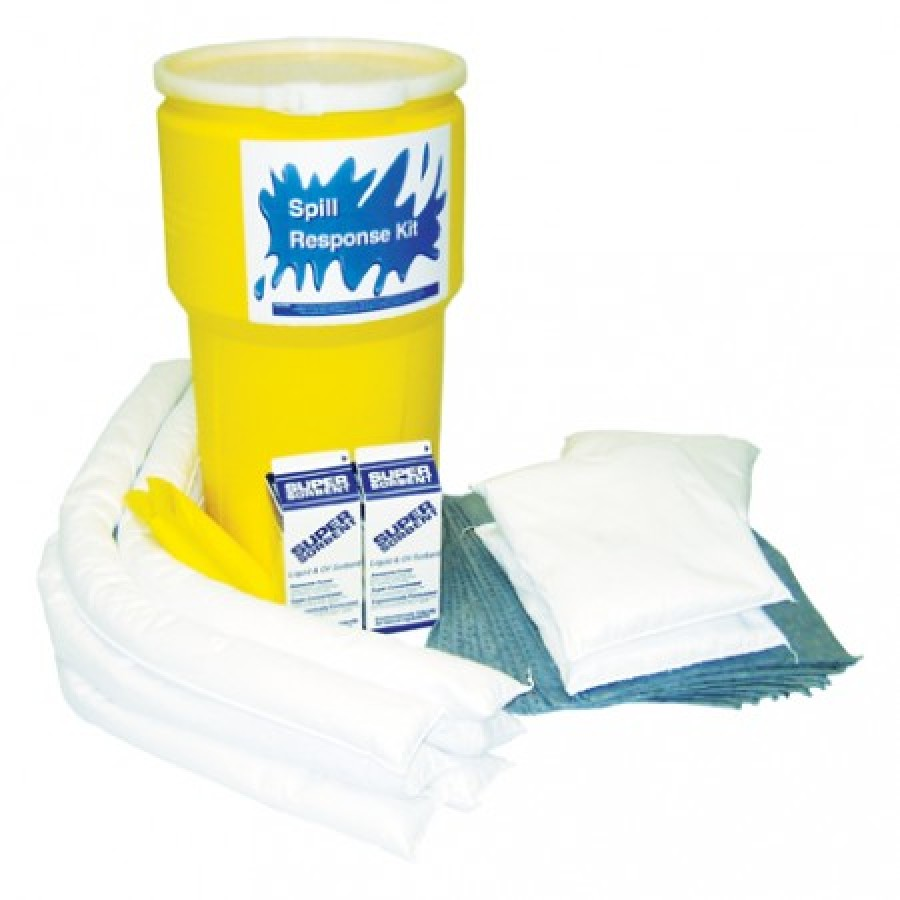 HAZMAT SPILL KIT HAZMAT SPILL KIT - FACILITY MAINTENANCE SPILL KIT14 GALLON CONTAINER KITS  FACILITY