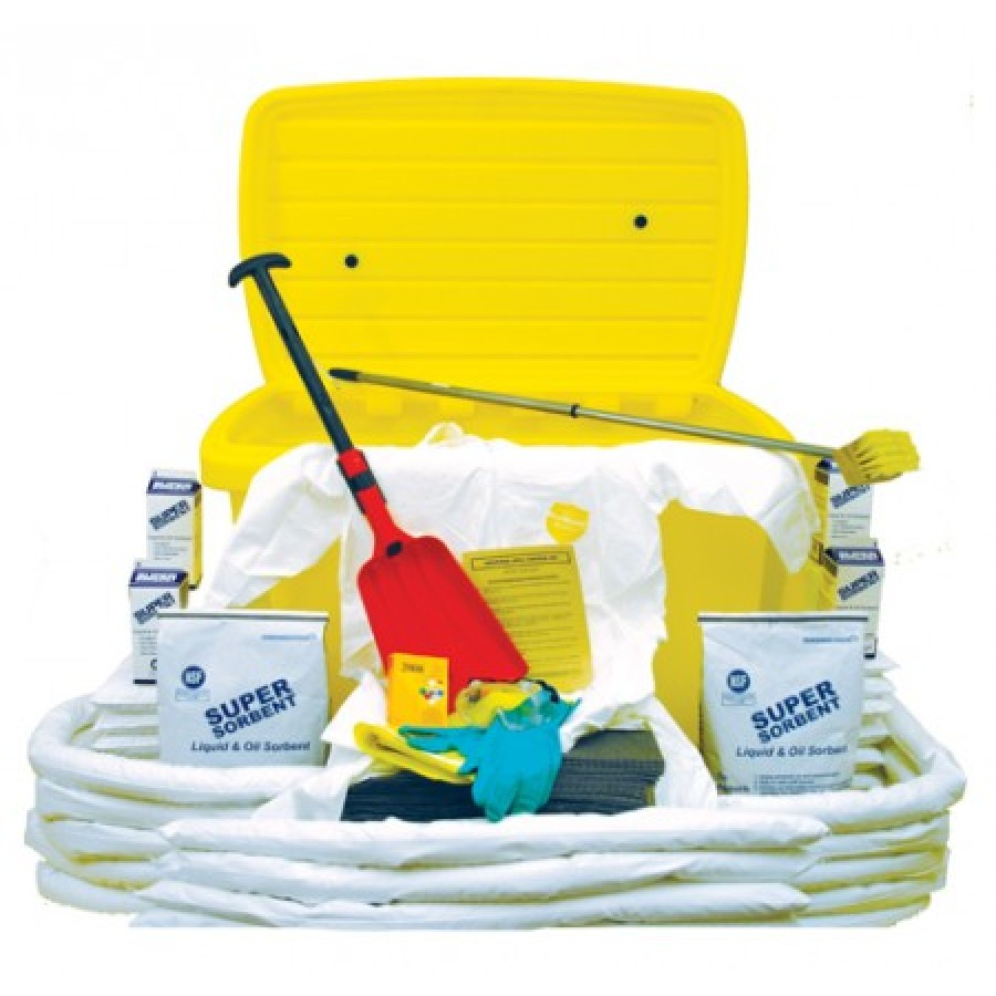 HAZMAT SPILL CART HAZMAT SPILL CART - MOBILE SPILL CART KITMOBILE SPILL CART KIT:  48? L x 31? D x 3