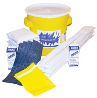 HAZMAT SPILL KIT HAZMAT SPILL KIT - UNIVERSAL/CHEMICAL SPILL KIT20 GALLON CONTAINER KITS UNIVERSAL/C