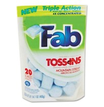 POWDER LAUNDRY DETERGENT | POWDER LAUNDR - C-FAB TOSSINS SGL USE CLNR