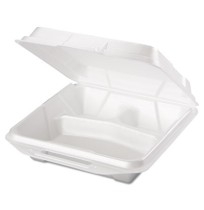 Hinged Container Hinged Container - Genpak  Foam Hinged Carryout ContainersFOAM CNTNR HING LID,3COMP