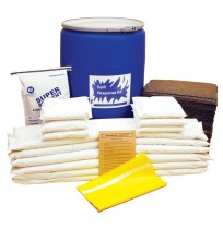 OIL SPILL KIT OIL SPILL KIT - OIL SELECTIVE SPILL KIT55 GALLON CONTAINER KITS OIL SELECTIVE SPILL KI