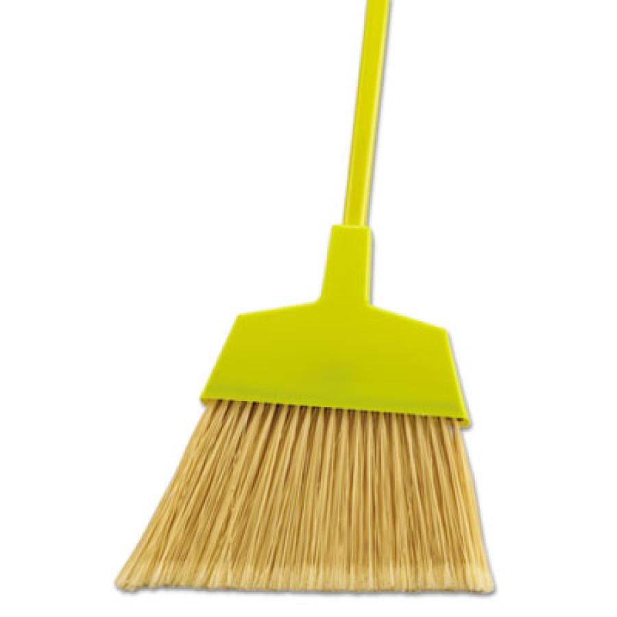 """ANGLE BROOM ANGLE BROOM - Poly Bristle Angler Brooms, 49"""", BlackUNISAN Poly Bristle Angler BroomsC-A"""