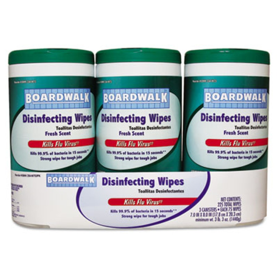 DISINFECTANT WIPES | DISINFECTANT WIPES - C-BOARDWALK MULTIPACK DISI N