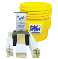 HAZMAT SPILL KIT HAZMAT SPILL KIT - UNIVERSAL/CHEMICAL SPILL KIT65 GALLON CONTAINER KITS UNIVERSAL/C
