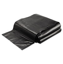 GARBAGE BAG GARBAGE BAG - Linear Low-Density Ecosac, 40 x 48, 45-Gallon, 1.0 Mil, Black, 100/CaseEss