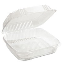 Hinged Container Hinged Container - Pactiv ClearView  SmartLock  Food ContainersCONTAINER,FOOD,CLEAR
