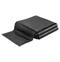 GARBAGE BAG GARBAGE BAG - Linear Low-Density Ecosac, 40 x 48, 45-Gallon, 1.5 Mil, Black, 100/CaseEss