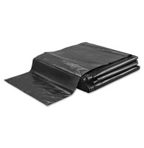 GARBAGE BAG GARBAGE BAG - Linear Low-Density Ecosac, 38 x 60, 55-Gallon, 1.0 Mil, Black, 50/CaseEsse