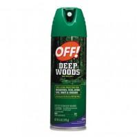 BUG SPRAY BUG SPRAY - Deep Woods OFF!, 6 oz Aerosol Can, UnscentedOFF!  Deep Woods OFF!C-OFF! DEEP W